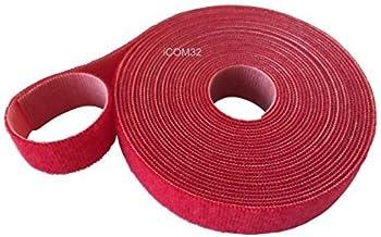 Texacro/® di velcro/® marca societ/à con occhiello e gancio per cucire su nastro nero Full 25/m roll Gancio e occhiello, 50/mm