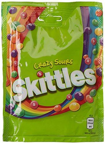 Skittles Crazy Sours Beutel, 7er Pack (7 x 174 g)