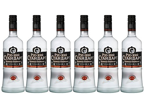 Russian Standard Vodka Spar-Set (6 x 0,7 Liter)
