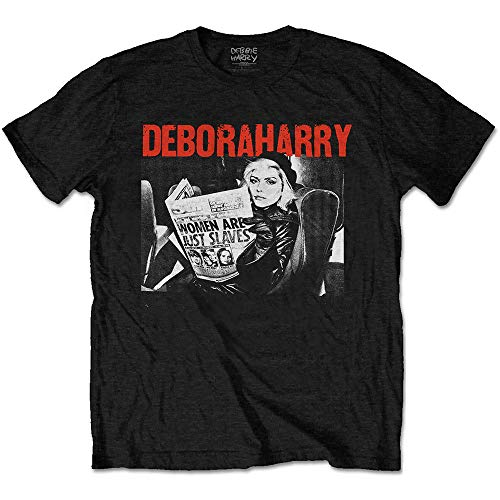 Women's Deborah Harry T Shirt, Women Are Just Slaves, M to XXL