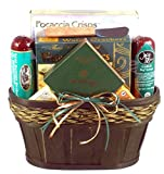 Irish Picnic Gourmet St. Patrick's Day Meat and Cheese Gift Basket