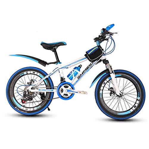 YJTGZ Fahrräder Junge Mädchen Fahrrad Student Rennrad Erwachsene Reise Fahrrad Outdoor Sports Bike 20 Zoll / 22 Zoll Variable Geschwindigkeit Fahrrad Frühling Sommer Bergsteigen Fahrrad