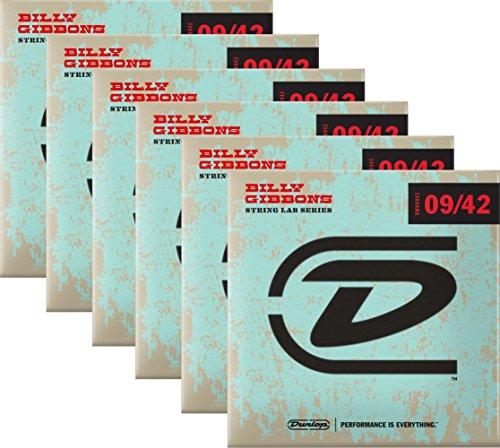 Dunlop Rev Willy de cuerdas para guitarra eléctrica 09–42–Caja de 6Sets