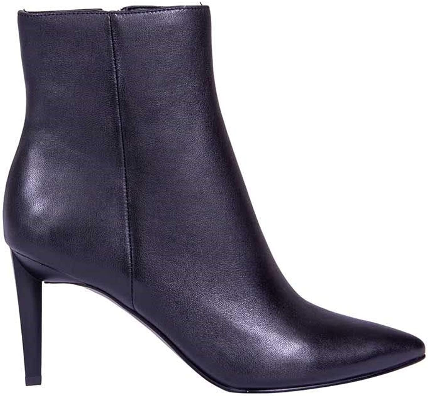 KENDALL + KYLIE Women's KKZOE07BLACK Black Leather Ankle Boots
