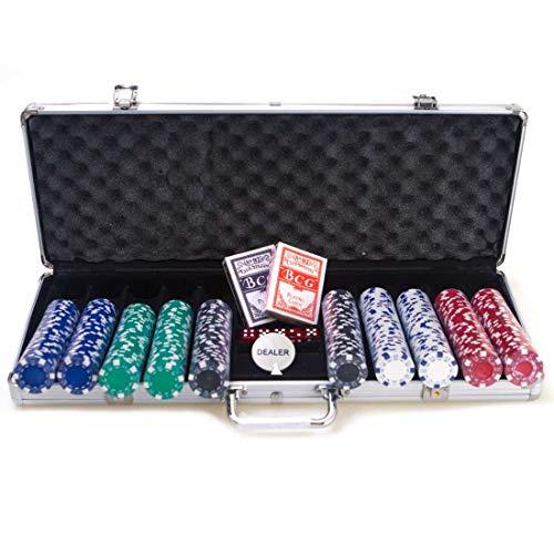 AX Esportes Maleta De Poker, Prata,