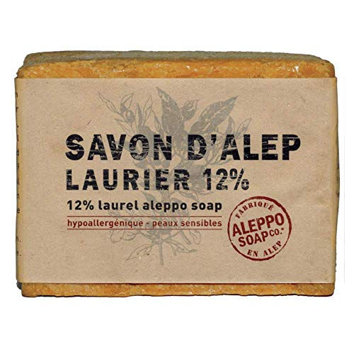 Aleppo Soap Co Zeep 12% Laurier, 200 G