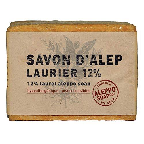 Aleppo Soap Co Zeep 12% Laurier, 200 G