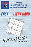 Brain Games Sudoku Puzzles Easy To Very Hard With Instructions And Solutions: Hundreds samurai daily killer Sudoku puzzles for adults easily fit in ... Book to strengthen memory for brain health