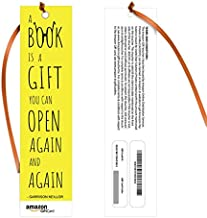 Amazon Pay Gift Card - Gift a book | Bookmarks - A Book is a Gift