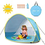 Glymnis Tenda da Spiaggia Bambini Pop Up con Mini Piscina Tenda per Neonati...