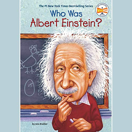 『Who Was Albert Einstein?』のカバーアート