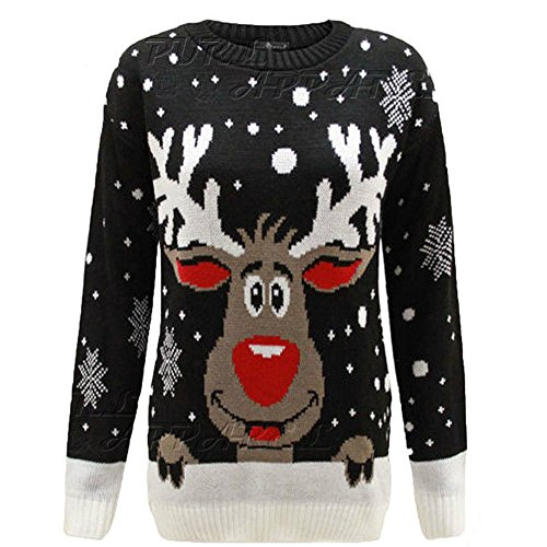 Home ware outlet da Uomo Donna Unisex Christmas Jumper...