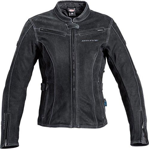 Mohawk Motorradjacke mit Protektoren Motorrad Jacke Damen Touren Velourslederjacke 1.0 schwarz 40, Tourer, Sommer