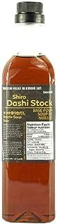 Yoshi Shiro Dashi Stock - 500mL (16.9oz)   Traditional Japanese Broth, Soy Sauce & Dashi Stock, Umami Flavour, Dipping Sau...