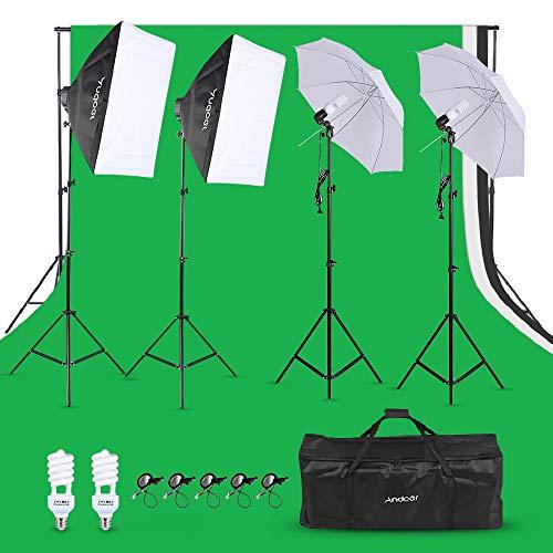 kit estudio fotografia fabricante Andoer