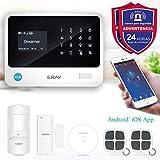 ERAY S2 Alarmas para Casa WiFi+gsm/ 3G+GPRS,...