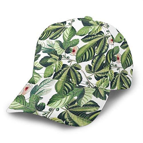 Preisvergleich Produktbild Unisex Baseball Cap Feigen Blatt Garten Feige Blätter verstellbare Kappen Hip Hop Snapback Krempe Hüte