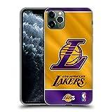 Head Case Designs Oficial NBA Estandarte 2019/20 Los Angeles Lakers Carcasa de Gel de Silicona Compatible con Apple iPhone 11 Pro MAX