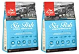 Orijen 2 Pack of Six Fish Grain-Free Dry Dog Food, 12 Ounces Each, Made in The...