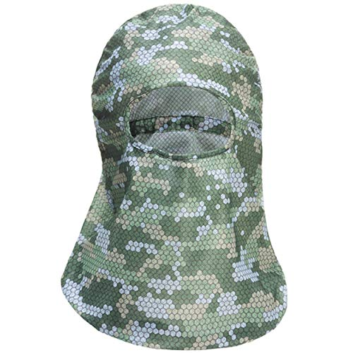 HECS Hunting HECStyle Adjustable Full Head Cover - Breathable Face...