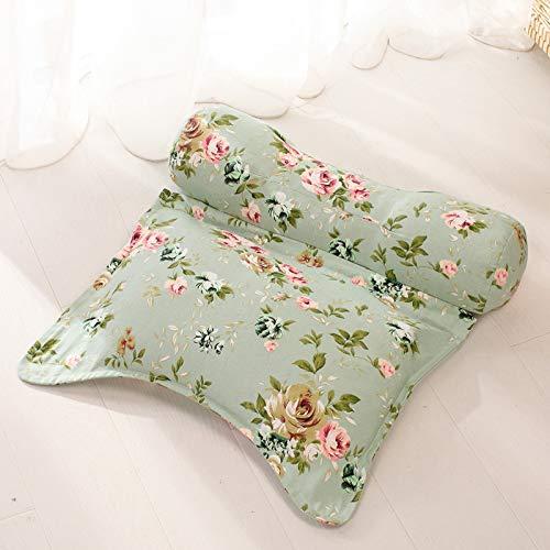 J-Kissen Engagierte zervikale Kissen Memory Pillow Pillow Pillow Restaurierung der traditionellen chinesischen Medizin zur Verbesserung der Schlaf Buchweizen Kissen (Farbe : F)