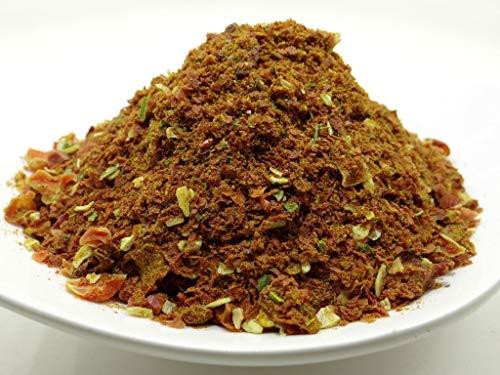 pikantum Chakalaka | 500g | scharfe, afrikanische Gewürzzubereitung | BBQ-Gewürz für Dips, Saucen und zum Würzen