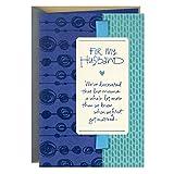 Hallmark Fathers Day Card for Husband (Beautiful Tomorrows) (659FFW2147)