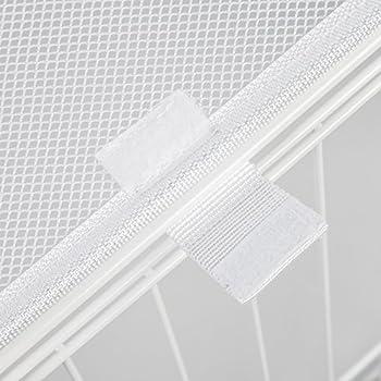 Iris Ohyama, parc pour chien / cage d'extérieur /  enclos / chenil  - Pet Circle - CLS-1130, plastique, blanc, 9,2 kg, 78,8 x 113 x 60 cm