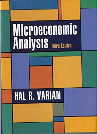 Microeconomic Analysis, Third Edition by Hal R. Varian(1992-03-17)