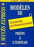 Modèles de contrats professionnels prêts à l'emploi