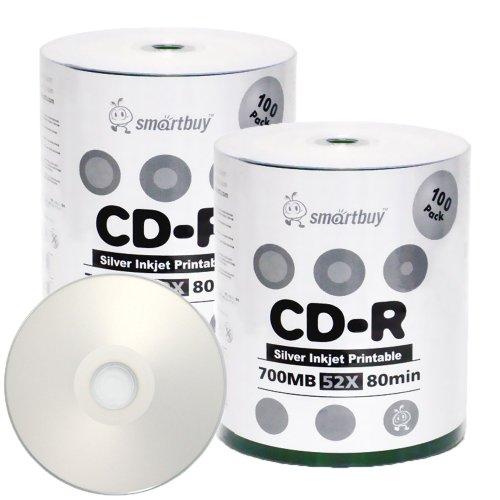 Smartbuy 700mb/80min 52x CD-R Si...
