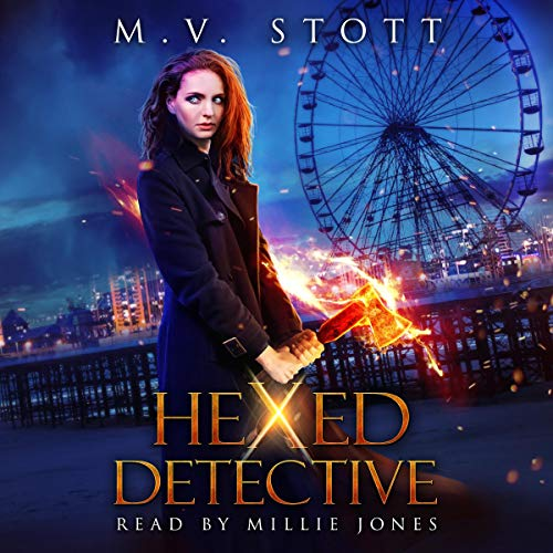 Hexed Detective: An Urban Fantasy audiobook cover art