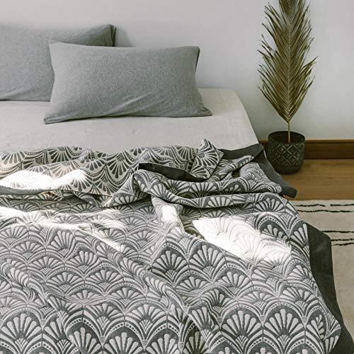 XUMINGLSJ Mantas para Sofás de Franela- Manta para Cama Reversible de 100% Microfibre Extra Suave -Fresno 5_Los 200 * 240cm