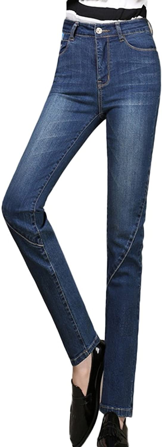 ICEGREY Women's Jeans Skinny Straight Pencil Pants