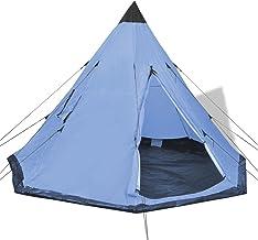 Camping vandring 4-personers tält blå
