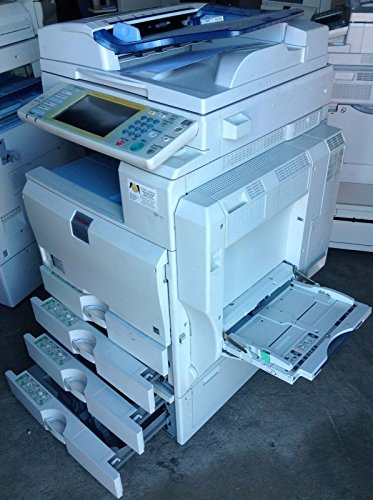 Ricoh Aficio MP C5000 A3 Color Laser Multifunction Printer - 50ppm, A3/A4, Copy, Print, Scan, Auto Duplex, Network, 2 Trays, Stand