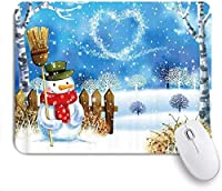 マウスパッド クリスマスだるまハッピーニューイヤー ゲーミング オフィス おしゃれ がい りめゴム ゲーミングなど ノートブックコンピュータマウスマット