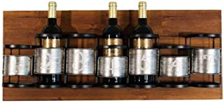 JFFFFWI Casier à vin fixé au Mur de Meubles de Bureau à la Maison de 7 Bouteilles/étagère européenne de Support de vin pou...