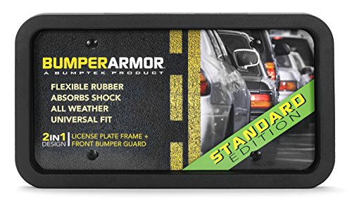 BumperArmor (Standard Edition) - Heavy Duty Front Bumper Guard. Biggest & Toughest Flexible Rubber Front Bumper Protector !