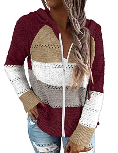 Womens Zip Up Sweater