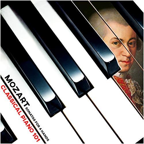 Sonata in Bb for Piano 4-hands, II. Adagio, K.358