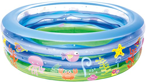 Best Way 51029 Piscina Onda d'Estate A 3 Anelli Cm 196X53 522, 1.96 cm x 53 cm