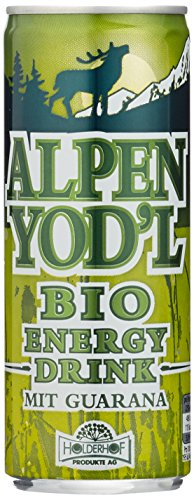 Alpen Yod'l Energy Drink mit Guarana, 12er Pack (12 x 250 ml)