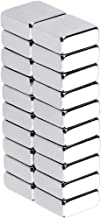 Anpro 20pcs Square Magnets 10 X 10 X 4mm, Mini Strong Neodymium Magnets for Whiteboards, Fridge, Crafts, Noticeboard