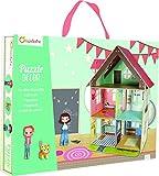 Puzzle 3D Puppenhaus zum aufbauen mit Figuren: 3D Puzzle