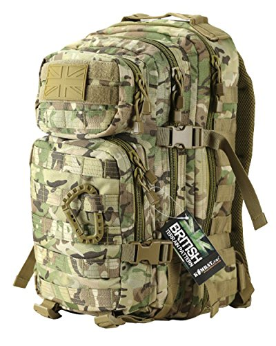 Photo of Zip Zap Zooom Army Military Tactical Combat Rucksack Backpack Bergen Molle Pack Bag All Terrain 28L