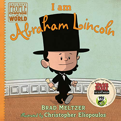 I Am Abraham Lincoln audiobook cover art