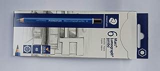 ステッドラー マルス ルモグラフ ジャンボ鉛筆 製図用高級鉛筆 100J-4B 6本箱入り