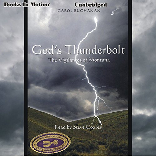 God's Thunderbolt: audiobook cover art