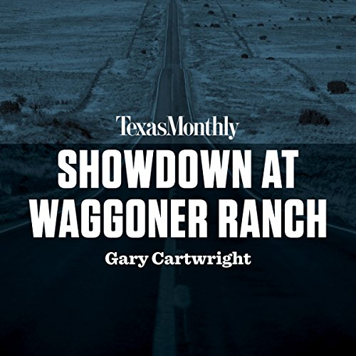 Showdown at Waggoner Ranch audiobook cover art